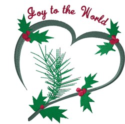 Heart Joy embroidery design