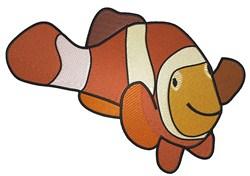 Clown Fish embroidery design