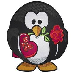 Penguin Lover embroidery design