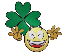 Happy St.Patricks Day embroidery design