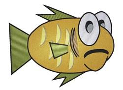 Cartoon Goldfish embroidery design