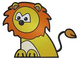Cute Cartoon Lion embroidery design