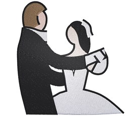 First Dance embroidery design