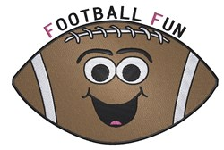 Football Fun embroidery design