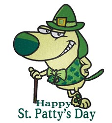 St.Pattys Day embroidery design
