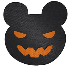 Carved Mouse Face embroidery design