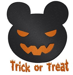 Trick Or Treat Mouse embroidery design