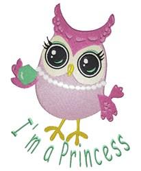 Im A  Princess embroidery design