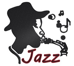 New Orleans Jazz embroidery design