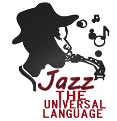 Jazz The Universal Language embroidery design