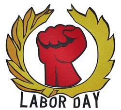 Labor Day Symbol embroidery design