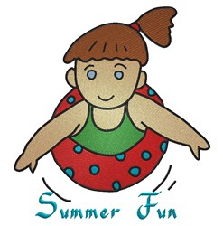 Summer Fun embroidery design