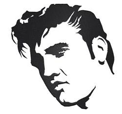 Elvis Presley embroidery design