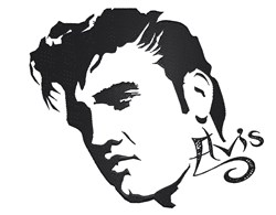 Elvis Presley The Celebrity embroidery design