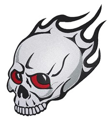 Tattoo Skull embroidery design