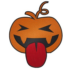 Sassy Halloween Pumpkin embroidery design