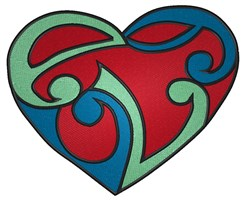 Celtic Heart Tattoo embroidery design