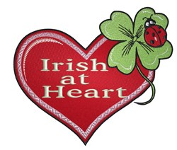 Irish At Heart embroidery design