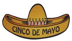 Cinco De Mayo Sombrero embroidery design