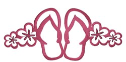 Flip Flop Border embroidery design