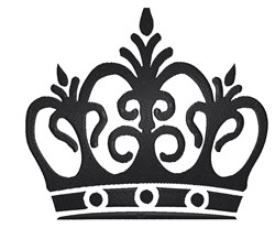 Royal Tiara embroidery design