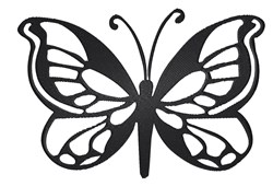 Butterfly Stencil embroidery design
