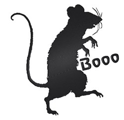 Booo Rat embroidery design