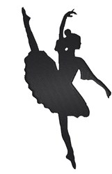 Ballet Dancer embroidery design