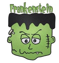 Frankenstein Head embroidery design
