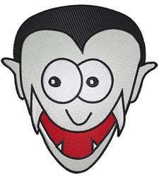 Vampire Head embroidery design