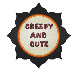 Creepy And Cute embroidery design