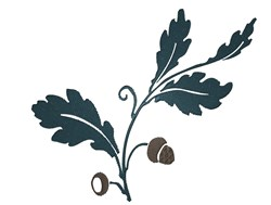 Oak Branch embroidery design