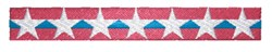 Patriotic Border embroidery design