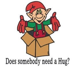 Need A Hug embroidery design