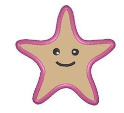 Starfish Applique embroidery design