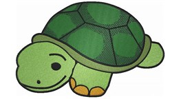 Cute Little Turtle embroidery design