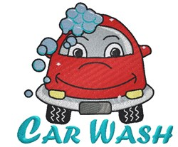 Car Wash embroidery design