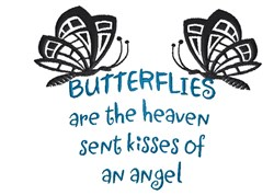 Kisses Of Angel embroidery design