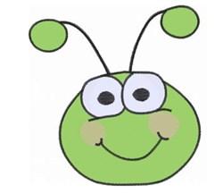 Bug Face embroidery design