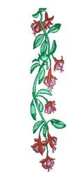 Fuchsia Border embroidery design