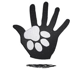 Cat Paw & Hand embroidery design