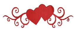 Heart Border embroidery design