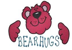 Bear Hugs embroidery design