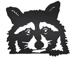 Adorable Raccoon embroidery design