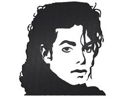 Michael Jackson embroidery design