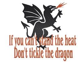 Dragon Heat embroidery design