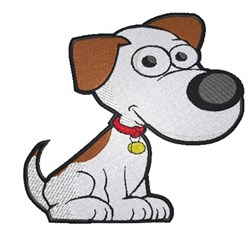 Cartoon Dog embroidery design