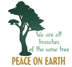 Branches Of The Same Tree embroidery design