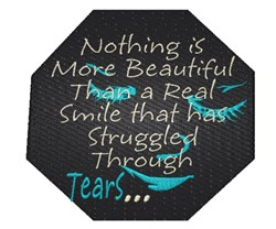 A Real Smile embroidery design