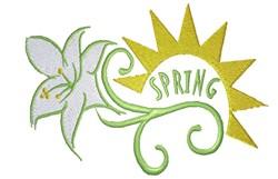 Easter design Spring embroidery design